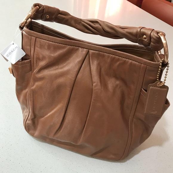 Coach Parker leather hobo shoulder bag 7e2d07f8f2705